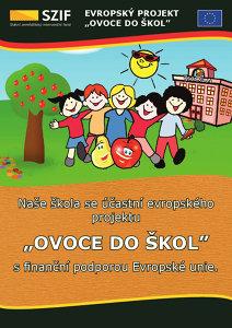 Plakát projektu Ovoce do škol